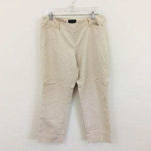 White House Black Market Perfect Form Crop Pants